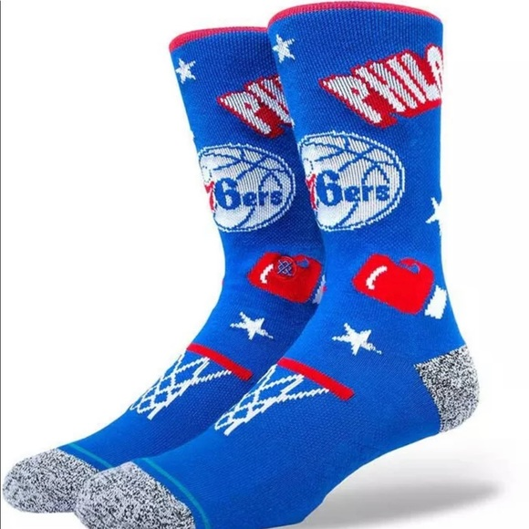Stance Philadelphia 76ers Socks - NWT